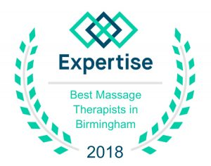 Best Massage Therapist in Birmingham Alabama 2018 award